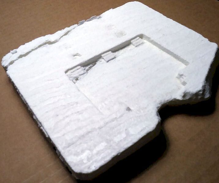 A raw 3D print of a broken stone from the Pumapunka site [Source: Heritage Science Journal]