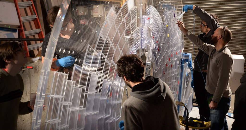 Formlabs' SLA technology was used to create a large sculpture for Times Square this year as major landmarks welcome 3D printing [Image:  Formlabs ]