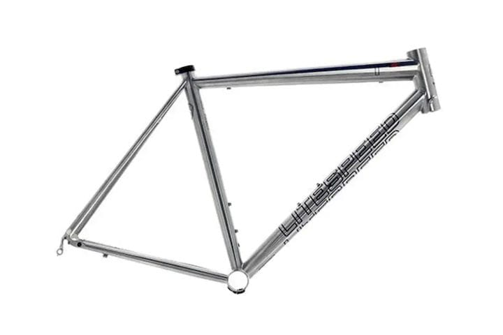 The $4,000 Litespeed T1SL frame is made of 6Al/4V titanium alloy. The small size frame weighs 995 grams. (Image courtesy of Litespeed.)