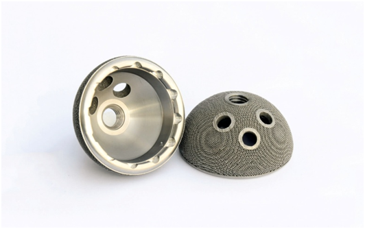 3D printed orthopedic hip replacement joint sockets