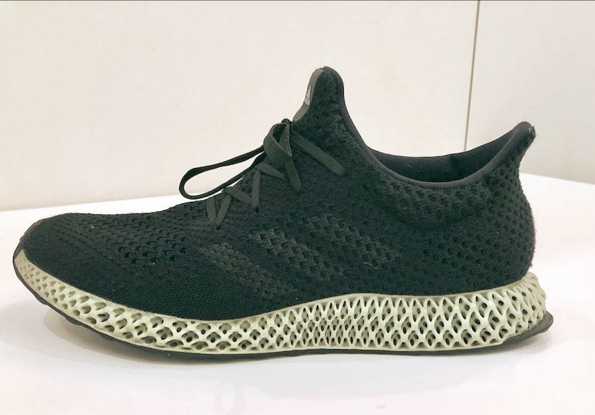 adidas' FUTURECRAFT shoe with 3D printed midsole by Carbon [Source: Fabbaloo]
