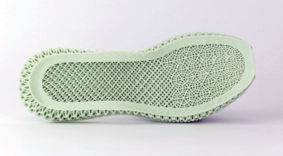 The adidas FUTURECRAFT shoe bottom [Source: Carbon]