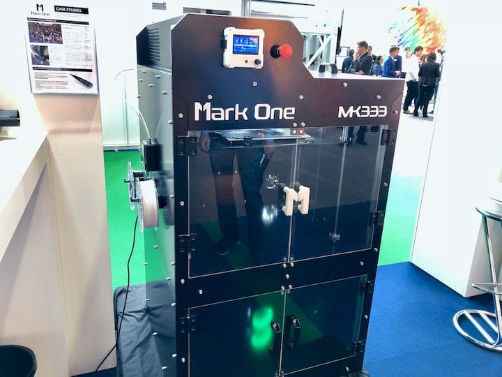 The Mark One MK333 professional 3D printer [Source: Fabbaloo]