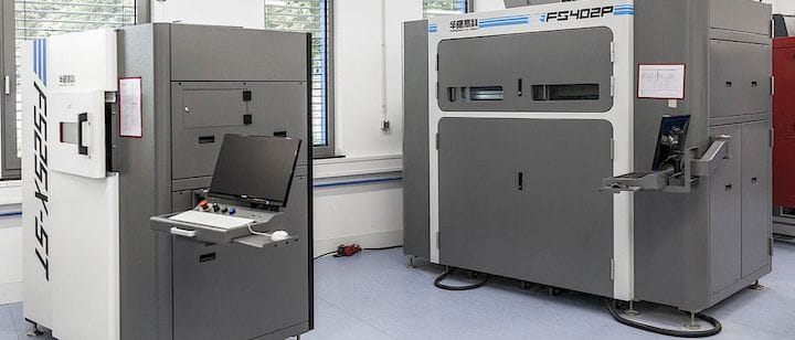 """""""PLS"""" 3D printers from LSS [Source: LSS]"""