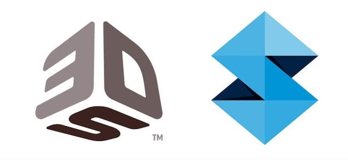 3D Systems and Stratasys