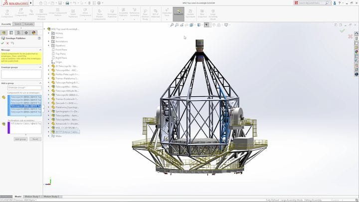Complex geometries in CAD [Source: SOLIDWORKS]