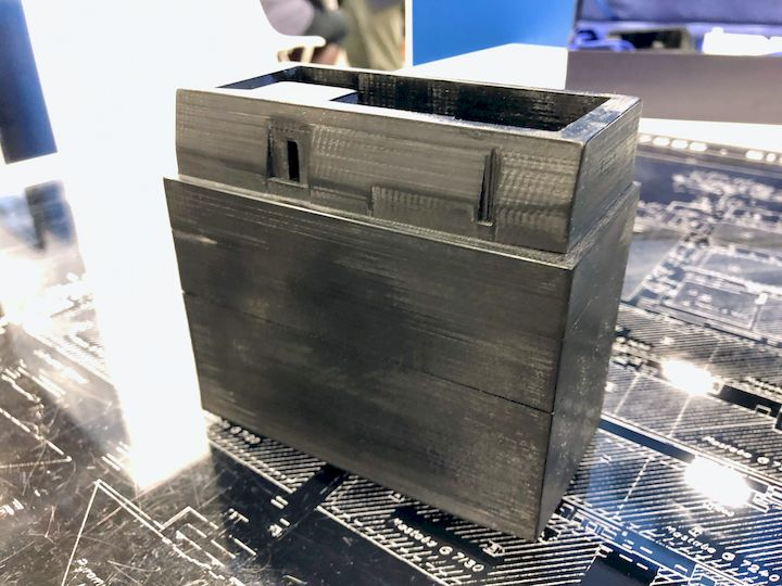 A 3D printed representation of an ancient Egyptian tomb structure [Source: Fabbaloo]