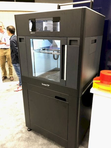 The coming 3DWOX 7X professional 3D printer [Source: Fabbaloo]