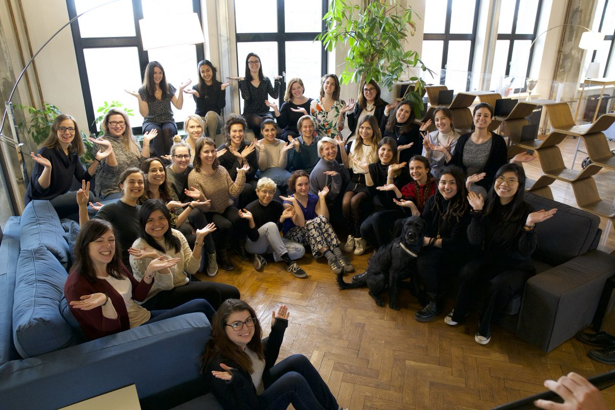 The women of Formlabs in #BalanceforBetter pose for International Women's Day 2019 [Image: Formlabs]