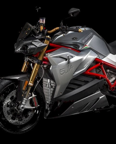 One of Energica's amazing electric motorbikes [Source: Energica Motor Company]