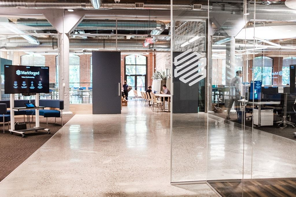Markforged's Watertown, MA office [Image: Markforged]