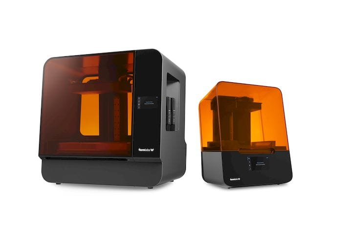 The all new Form 3L and Form 3 resin 3D printers [Source: Formlabs]