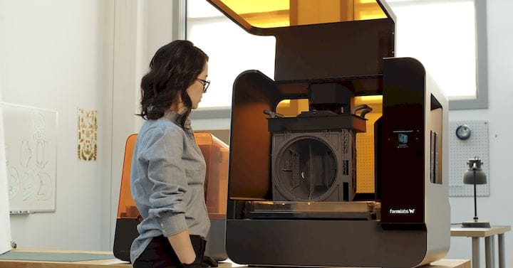 The massive Form 3L 3D printer [Source: Formlabs]