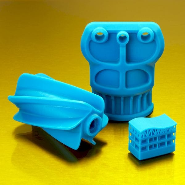 3D prints made from the new Draft Resin [Source: Formlabs]