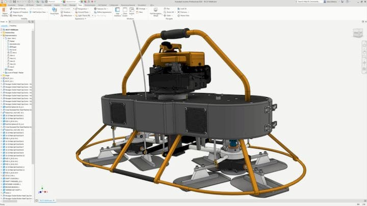 creenshot of Inventor 2020. (Image courtesy of Autodesk.)