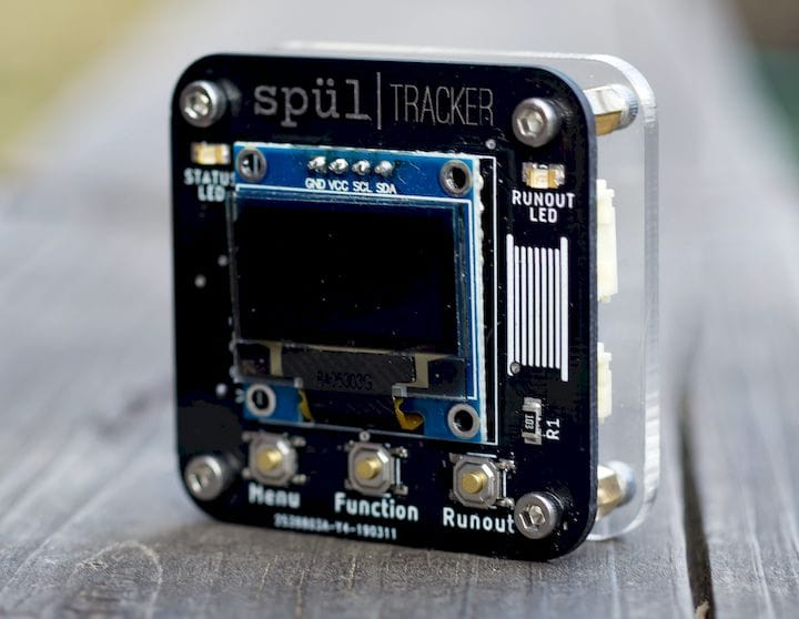A filament-tracking device for 3D printers [Source: Spul]