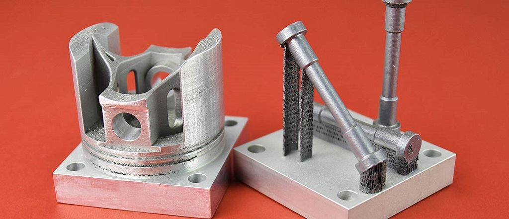 3D printed high-strength aluminum parts. [Image: HRL Laboratories]