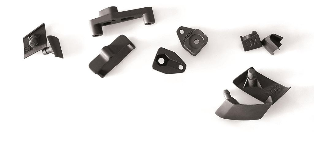 3D printed parts made in Windform P1 [Image: CRP Technology]