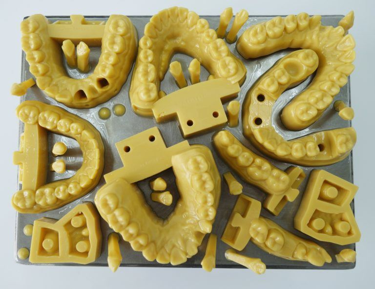 3D printed dental models made on Structo's DentaForm [Image: Structo]