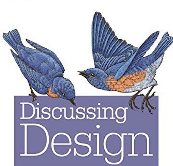 Discussing Design [Source: Amazon]