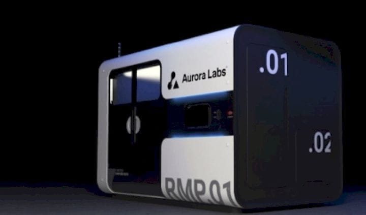 The all-new RMP1 Beta metal 3D printer [Source: Aurora Labs]
