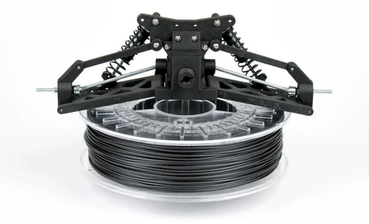 ColorFabb Carbon Fiber XT-CF20 3D-printing filament. (Image courtesy of ColorFabb.)
