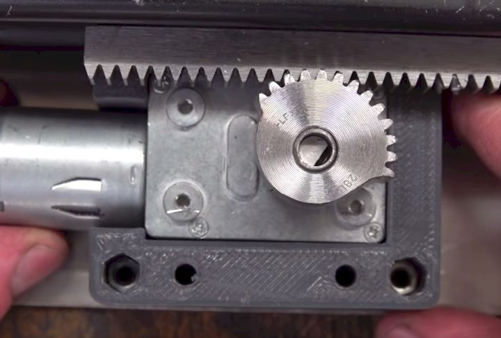 3D printed part from one of Colin Furze's projects [Source: YouTube]