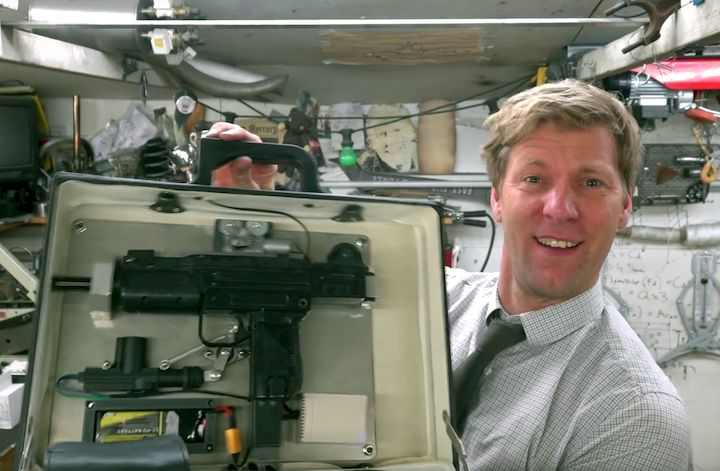 Supermaker Colin Furze uses 3D printing [Source: YouTube]