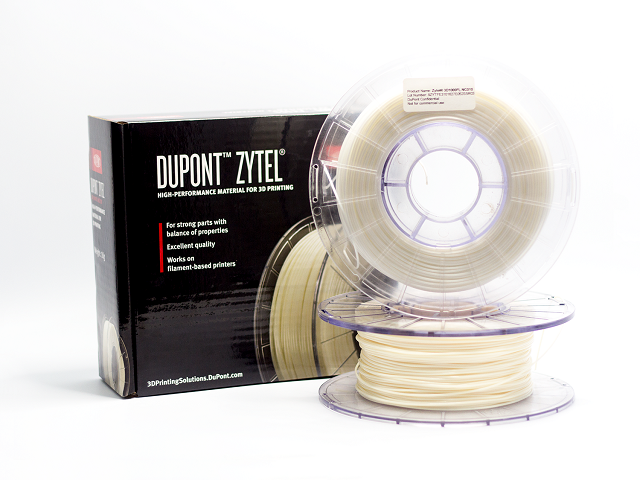 Now available via MatterHackers: DuPont's Zytel filament [Image: MatterHackers]