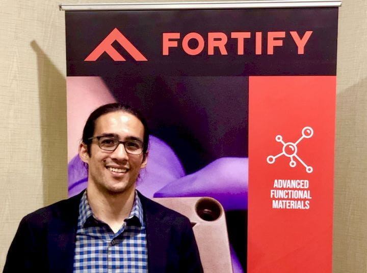 Fortify  Founder and CEO Joshua Martin  [Source: Fabbaloo]