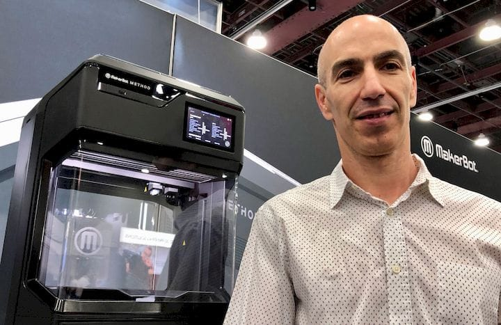 MakerBot's Nadav Goshen [Source: Fabbaloo]