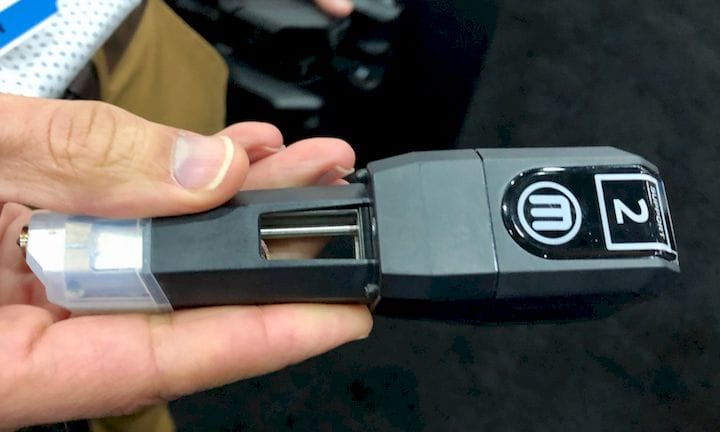 The MakerBot Method's Smart Extruders are quite different [Source: Fabbaloo]
