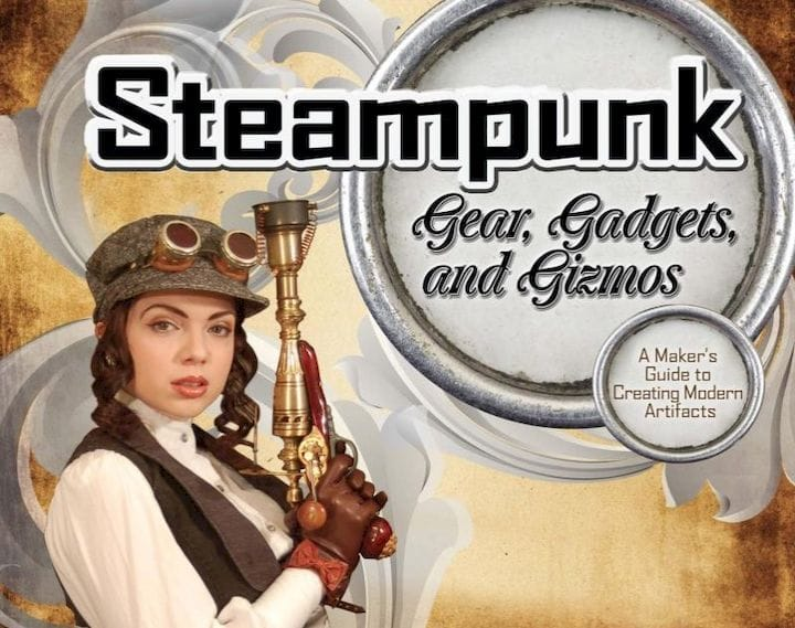 Using 3D printing to create steampunk? [Source: Amazon]