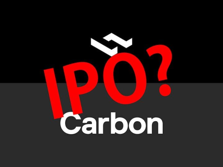 Could Carbon IPO? [Source: Fabbaloo]