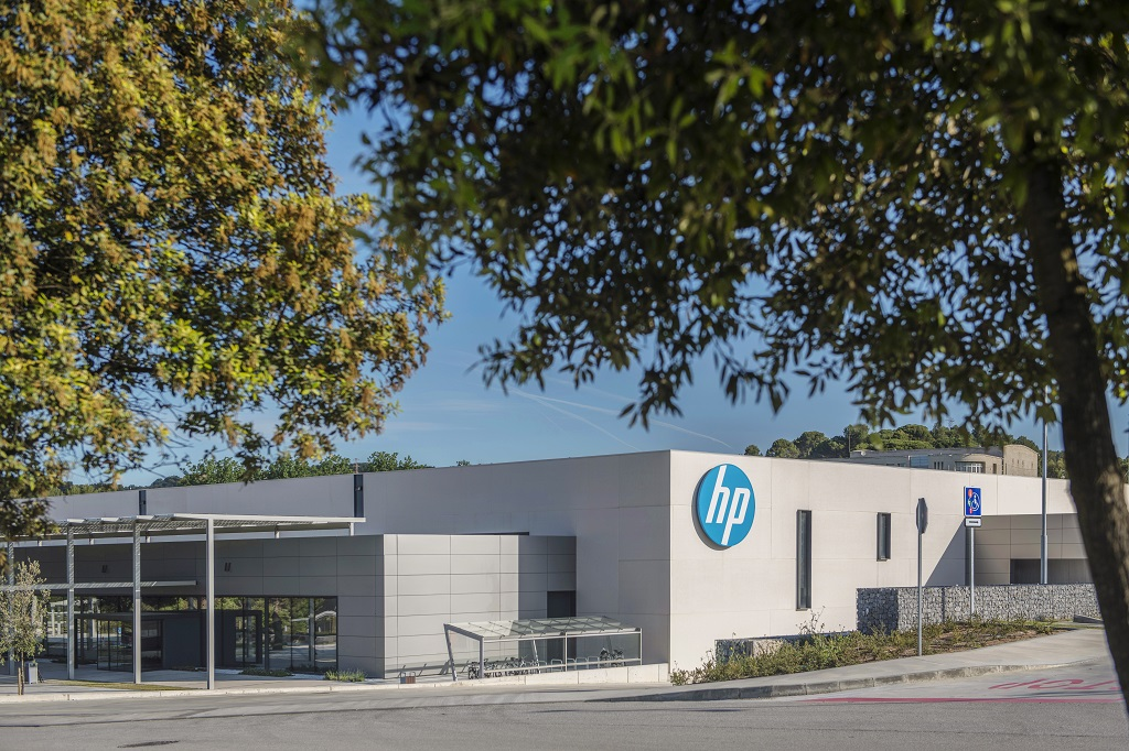 HP's new 150,000 sq. ft 3D Printing and Digital Manufacturing Center of Excellence in Barcelona, Spain. [Image: HP]