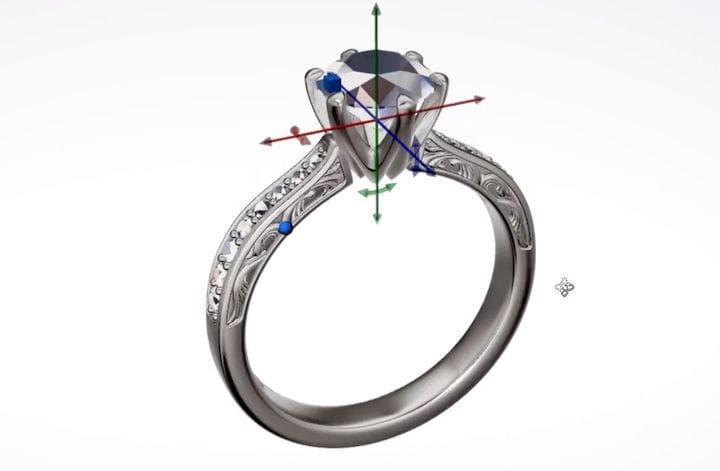 CounterSketch jewelry CAD software [Source: Stuller]