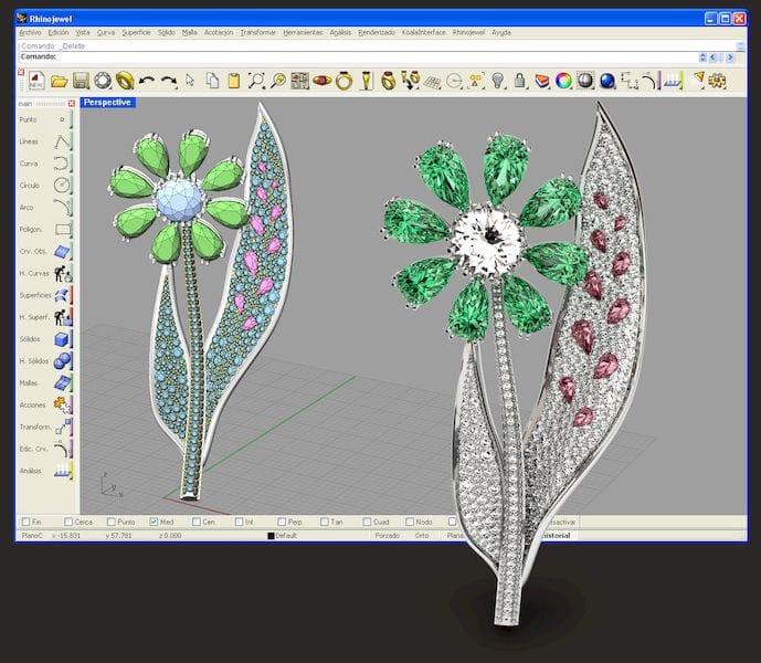 RhinoJewel jewelry CAD software [Source: RhinoJewel]