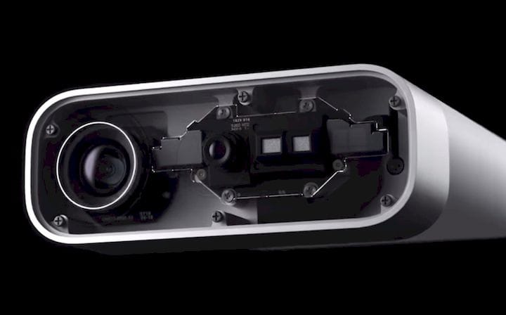 Camera systems on the upcoming Azure Kinect device [Source: Microsoft]