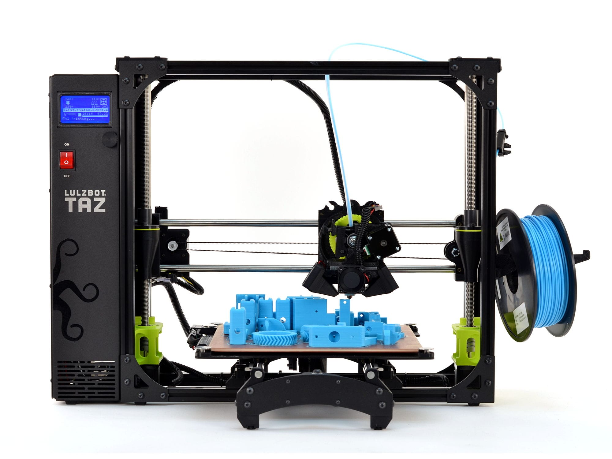 The TAZ 6 3D printer is used by the military [Source: Aleph Objects]
