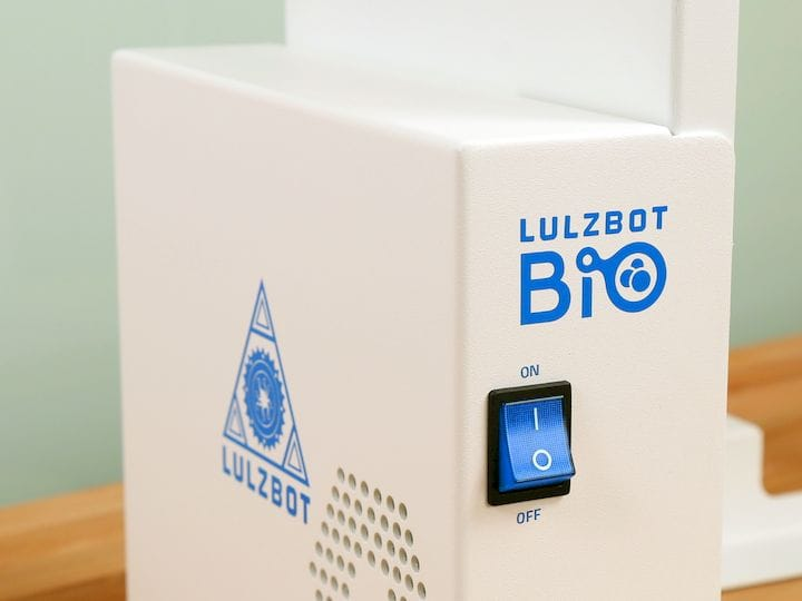 The upcoming LulzBot Bio 3D bioprinter [Source: Aleph Objects]