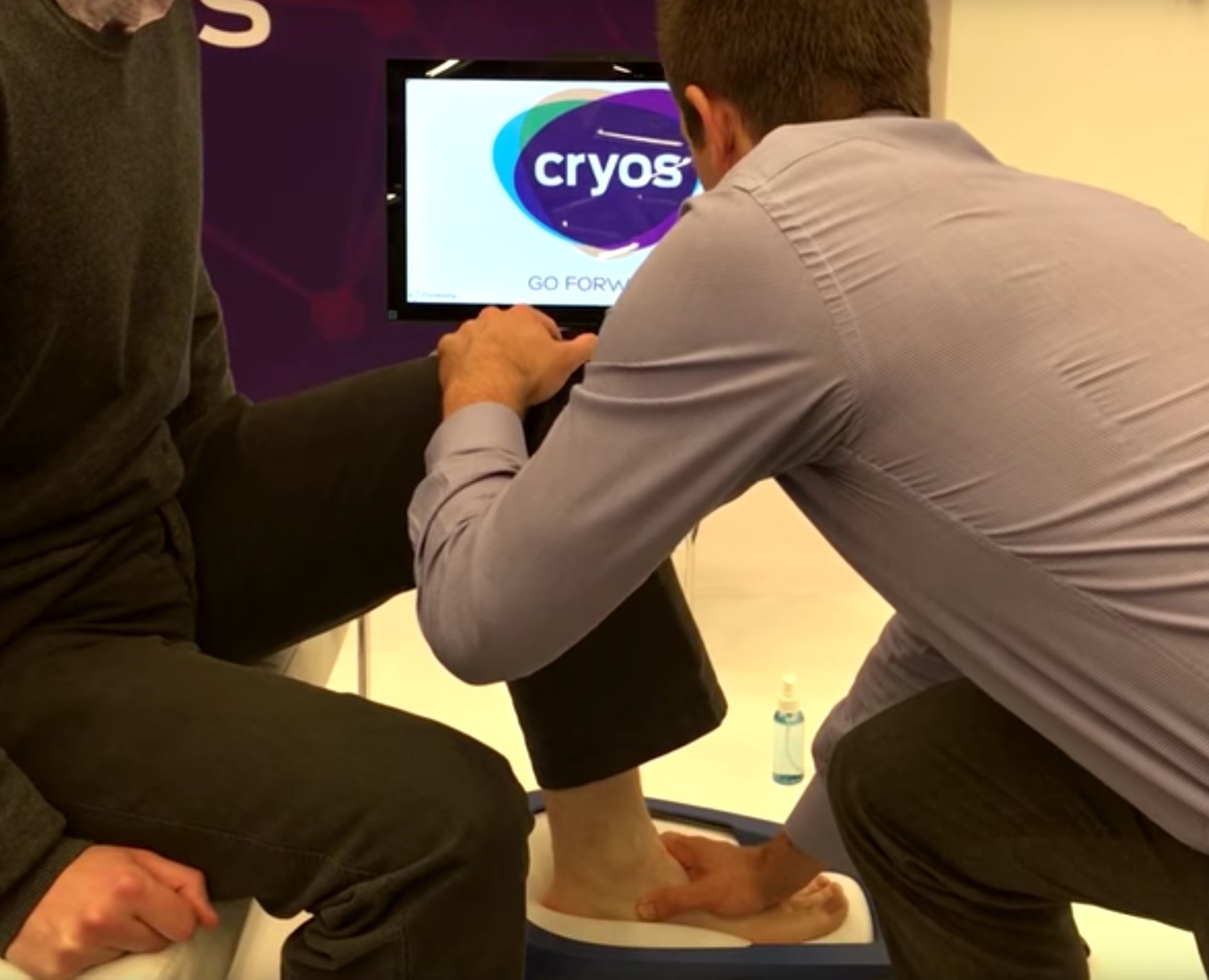 Cryoscan3D in action [Image: Fuel3D]