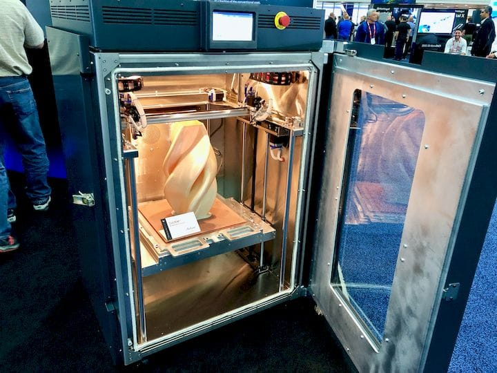 The AON-M2 High-Temperature 3D Printer [Source: Fabbaloo]