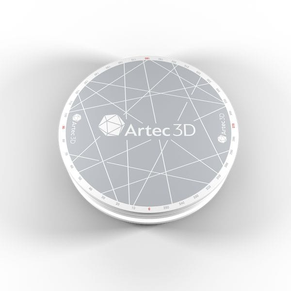 The new Artec Turntable accessory for 3D scanning [Source: Artec 3D]