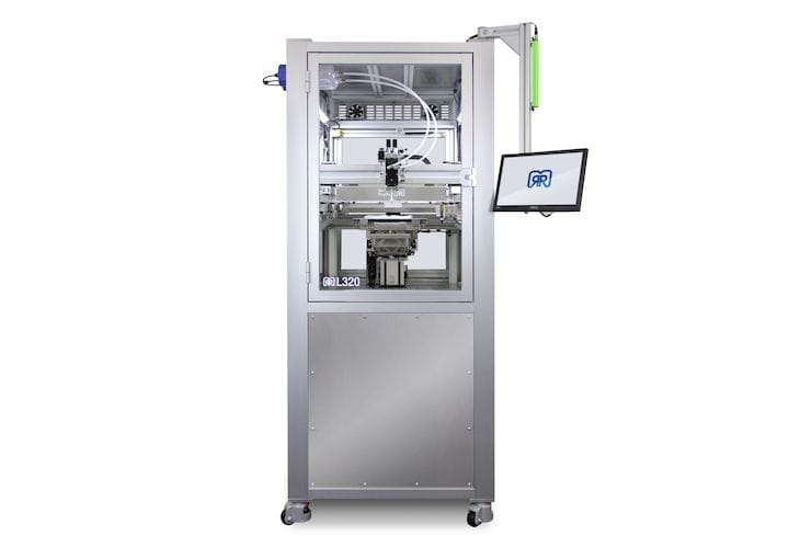 The German RepRap L320 Silicone 3D Printer [Source: German RepRap]