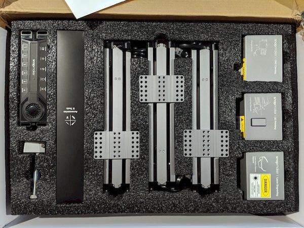 What's inside the Snapmaker 3D printer kit box [Source: SolidSmack]