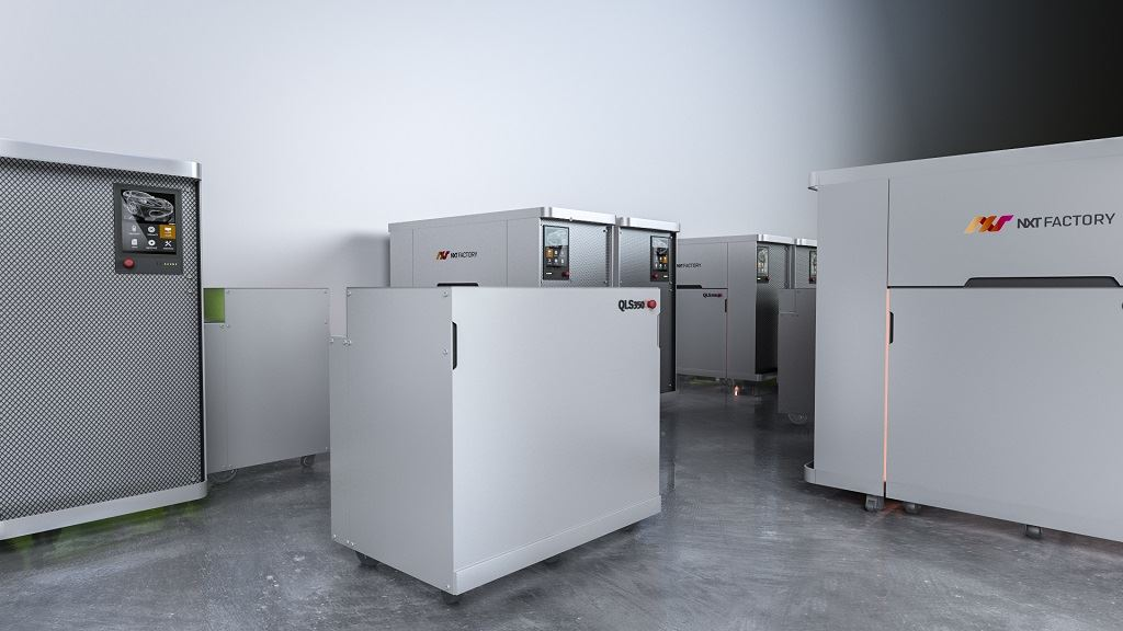 A QLS 350 installation rendering [Image: NXT Factory]