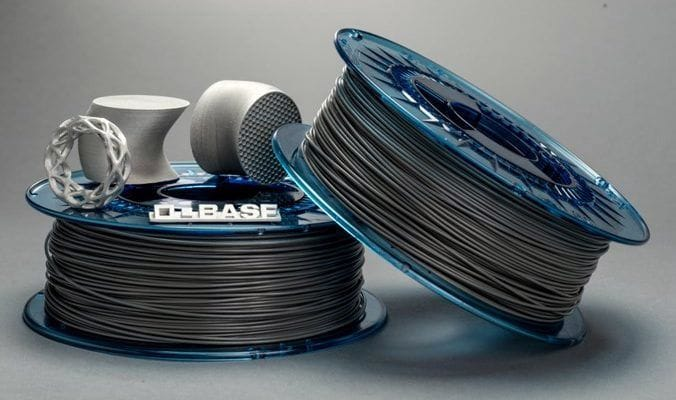 Two spools of BASF's new Ultrafuse 316L stainless steel filament [Source: BASF]