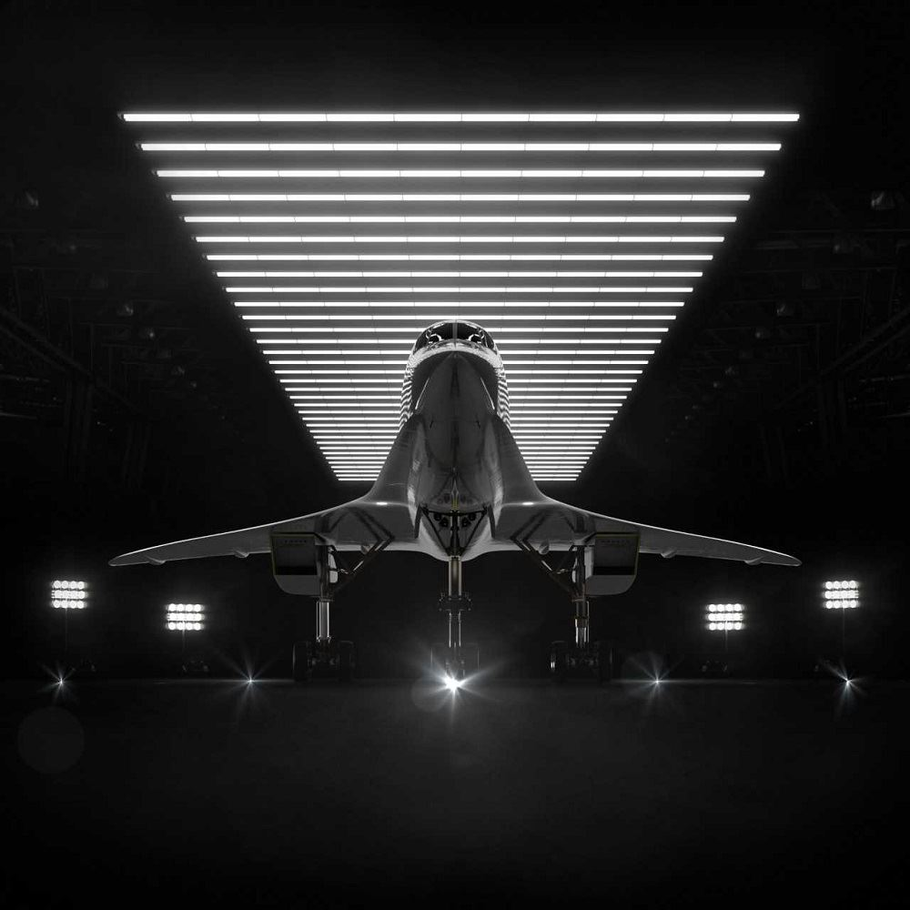 Boom's upcoming supersonic commerical aircraft [Image: Boom Supersonic]