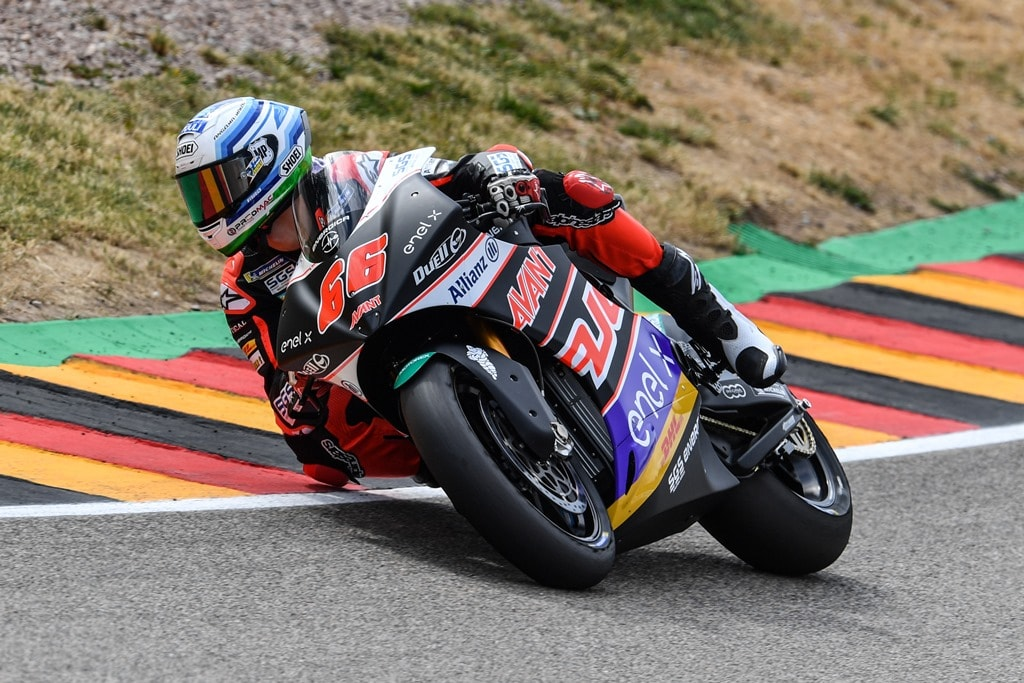 Niki Tuuli, winner of the first round FIM Enel MotoE World Cup. [Image: CRP]