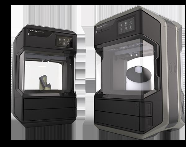 The METHOD (left) and METHOD X (right) 3D printers [Image: MakerBot]